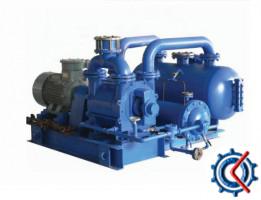 2BW系列水(液)环式真空泵及压缩机闭路循环系统